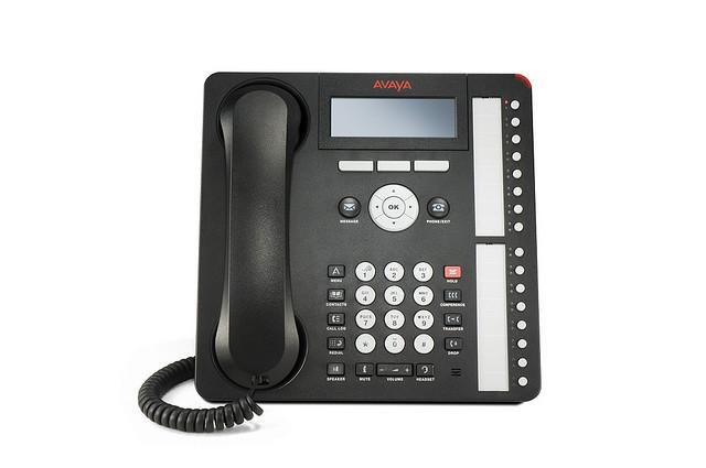 Front View Avaya IP Phone 1616-IP Deskphone 700504843