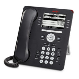 Left View Avaya IP Phone 9608 Global Deskphone 700504844