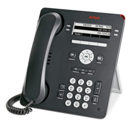Left View of Avaya 9504 TELSET IP Office 700508197 Digital Phone