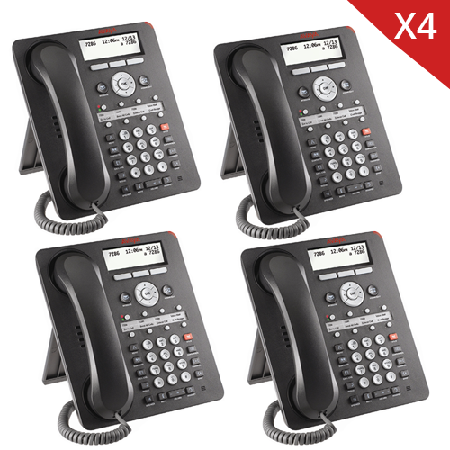 Avaya 1608i IP Phone 4 PACK - 700510907
