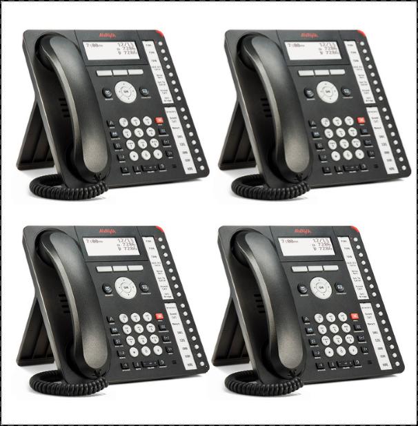 Avaya 1416 Digital Phone 4 PACK – 700510910