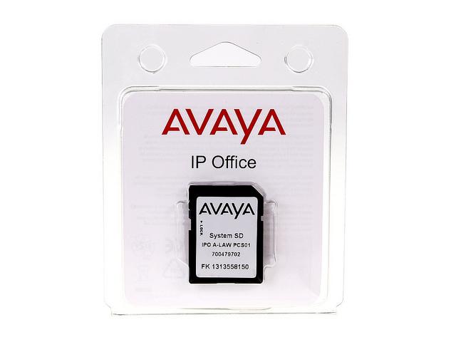 700479702 IP OFFICE IP500 V2 SYSTEM SD CARD A-LAW AVAYA