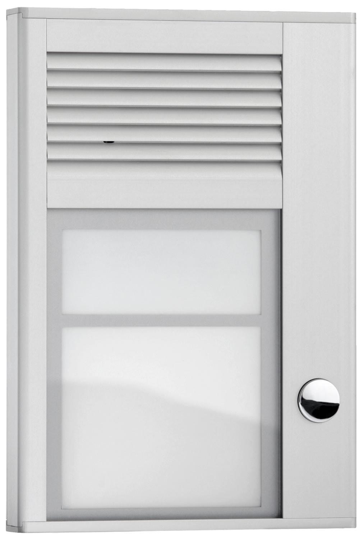 Interquartz door entry doorphone 1 button id201 for Door entry handset