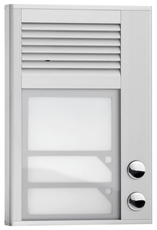 Interqurtz door entry door phone 2 button id202 for Door entry handset