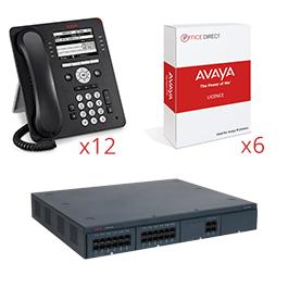 Avaya IP Office 500V2 – 12 User IP Bundle (9608G)