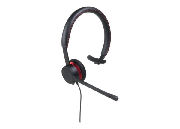 Avaya L129 Quick Disconnect Monaural Leather Headset - 700514052