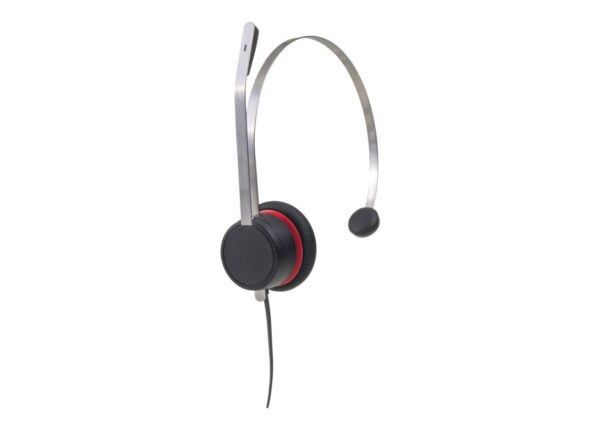 Avaya L139 Quick Disconnect Monaural Leather Headset - 700514053