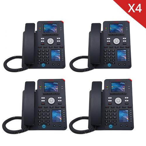 Avaya J159 IP Phone - 4 Pack