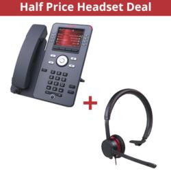 Avaya j179 + headphone